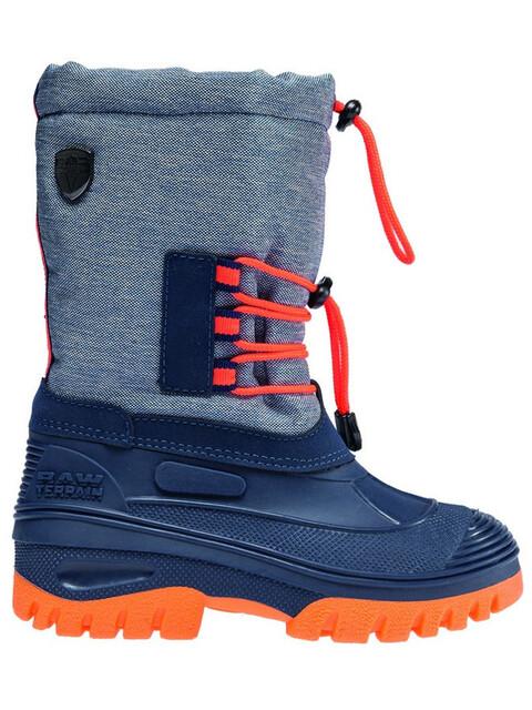 CMP Campagnolo Ahto WP Snow Boots Juniors Denim Melange